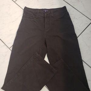 NYDJ Jeans - NYDJ embellished back pocket black flare Jeans